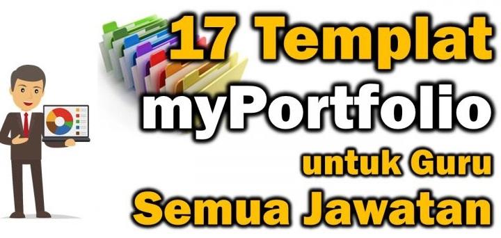 Download Template MyPortfolio GAB dan Semua Jawatan Lain