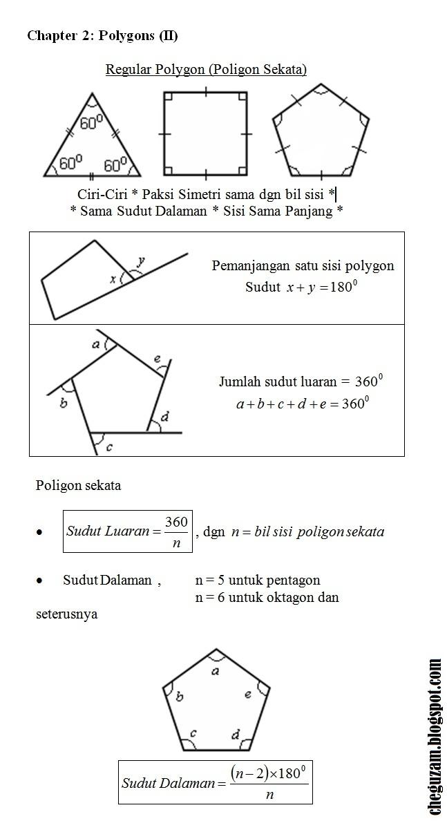 Download Dskp Matematik Tingkatan 3 Bernilai Nota Matematik Tingkatan 3 Bab 2 Poligon Polygons Ii Chegu Zam Of Download Segera Dskp Matematik Tingkatan 3 Yang Terbaik Khas Untuk Para Murid Cetakkan!