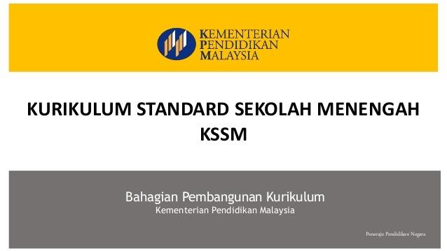 dskp kssm tingkatan 3 pendidikan khas kegunaan 2019