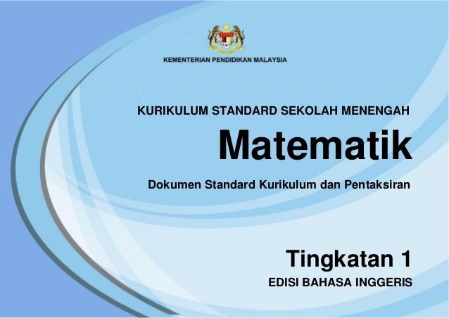 Download Dskp Matematik Tingkatan 3 Terbaik Dskp Kssm Mathematics form 1 Of Download Segera Dskp Matematik Tingkatan 3 Yang Terbaik Khas Untuk Para Murid Cetakkan!