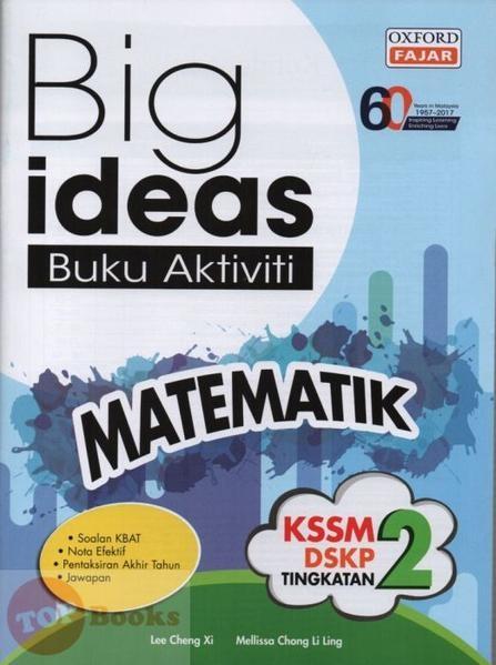 product image big ideas buku aktiviti matematik tingkatan 2