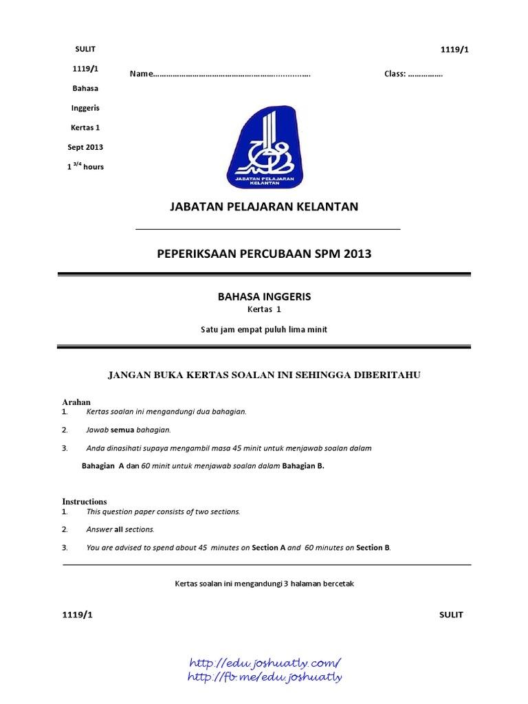 Latihan Bahasa Inggeris Spm Bernilai Kelantan B Inggeris Skema Spm Turtle Nature Of Bermacam-macam Latihan Bahasa Inggeris Spm Yang Terhebat Khas Untuk Ibubapa Muat Turun!