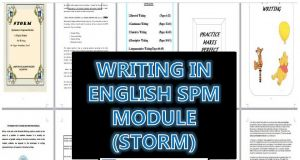 Latihan Bahasa Inggeris Spm Power Writing Module English Spm Storm Sumber Pendidikan