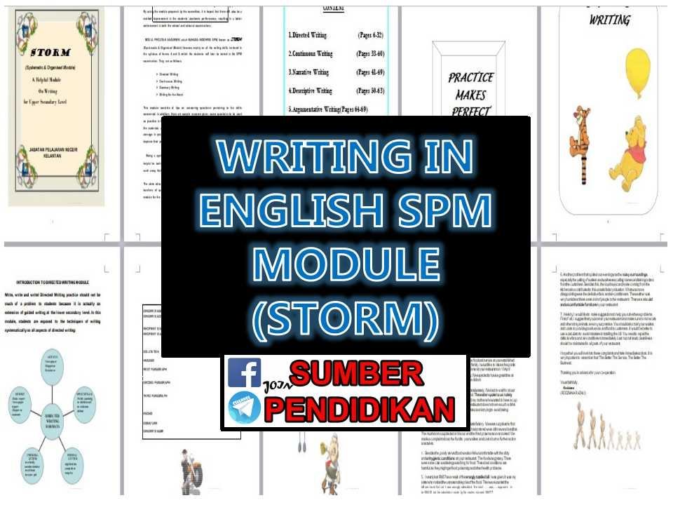 Latihan Bahasa Inggeris Spm Power Writing Module English Spm Storm Sumber Pendidikan Of Bermacam-macam Latihan Bahasa Inggeris Spm Yang Terhebat Khas Untuk Ibubapa Muat Turun!