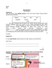 Latihan Bahasa Melayu Tahun 4 Penting Bm 1 Julai T6 2016 Pemahaman B Sulit Nama Murid Kelas Bahasa Of Senarai Latihan Bahasa Melayu Tahun 4 Yang Bernilai Khas Untuk Para Murid Dapatkan!