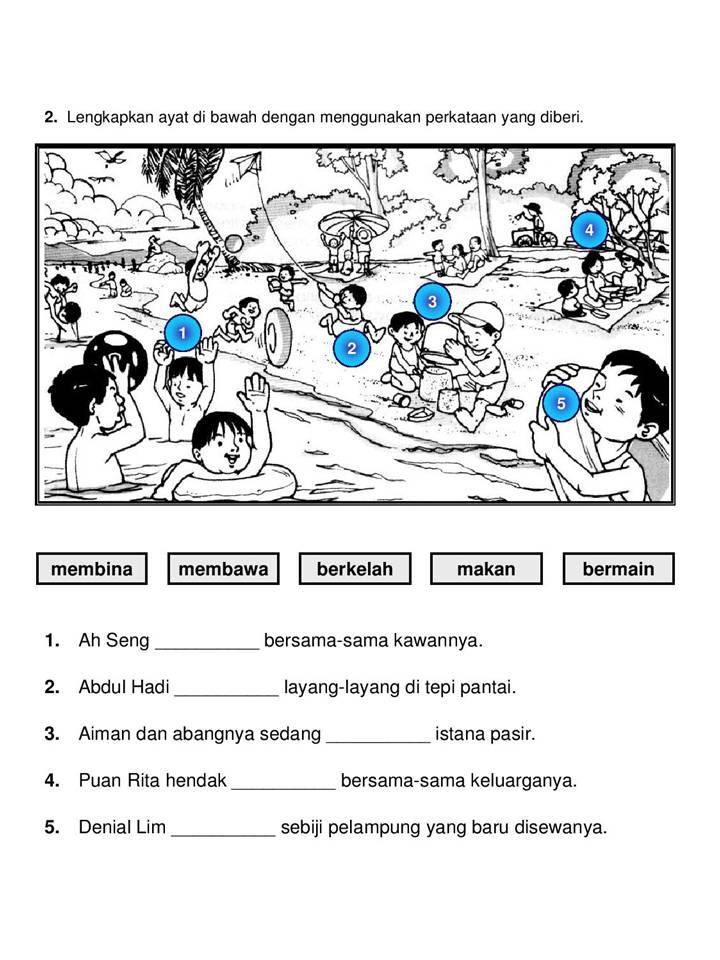 Senarai Latihan Bahasa Melayu Tahun 4 Yang Bernilai Khas Untuk Para Murid Dapatkan Cikgu Ayu