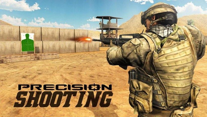 tentera combat menembak latihan amalan permainan tangkapan skrin 4