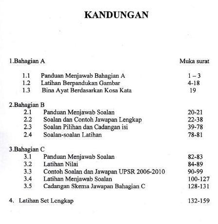 modul lestari upsr bahasa melayu penulisan halus sk daerah besut