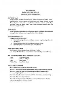 Latihan Biologi Tingkatan 4 Berguna Kertas Kerja Kajian Lapangan Biologi Tingkatan 4 Pdf Free Download Of Senarai Latihan Biologi Tingkatan 4 Yang Power Khas Untuk Para Murid Dapatkan!