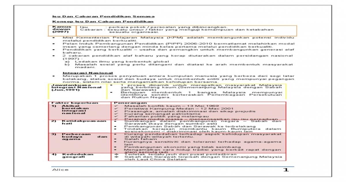 Latihan Geografi Tingkatan 4 Hebat Nota Edu 3093 isu Dan Cabaran Pendidikan Semasa Of Himpunan Latihan Geografi Tingkatan 4 Yang Meletup Khas Untuk Para Ibubapa Download!