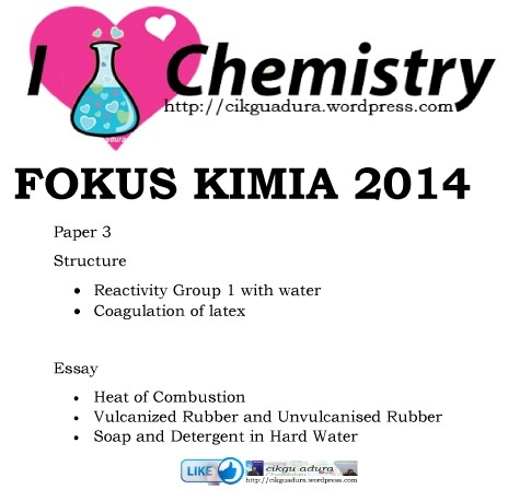 Latihan Kimia Tingkatan 4 Berguna Bahan Latihan Dengan Jawapan Kertas 3 Kimia Cikgu Adura S Blog Of Kumpulan Latihan Kimia Tingkatan 4 Yang Power Khas Untuk Murid Perolehi!