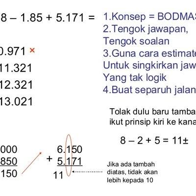 Latihan Matematik Upsr Terbaik Tips Upsr Tips Menjawab soalan Kertas 1 Matematik Of Bermacam-macam Latihan Matematik Upsr Yang Berguna Khas Untuk Para Ibubapa Perolehi!