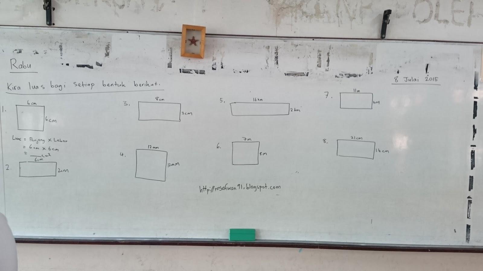 Latihan Sains Tahun 4 Menarik Cikgu Safwan Latihan topik Luas Sains Tahun 4 Of Himpunan Latihan Sains Tahun 4 Yang Bernilai Khas Untuk Ibubapa Lihat!