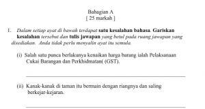 Nota Bahasa Melayu Tingkatan 1 Yang Sangat Baik Latihan Bahasa Melayu Tingkatan 1 Ourclipart