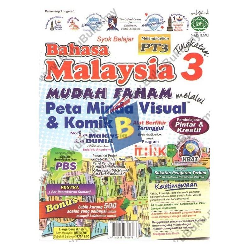 nadi ilmu peta minda visual komik bahasa malaysia tingkatan 3 jpg