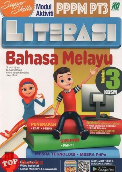 Nota Bahasa Melayu Tingkatan 3 Yang Sangat Menarik Sasbadi 18 Super Skills Modul Aktiviti Pppm Pt3 Literasi Bahasa Of Himpunan Nota Bahasa Melayu Tingkatan 3 Yang Hebat Untuk Murid Lihat