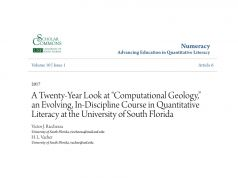 Nota Fizik Tingkatan 4 Yang Meletup Pdf A Twenty Year Look at Computational Geology An Evolving In