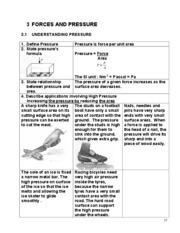 Nota Fizik Tingkatan 4 Yang Penting Chapter 3 forces and Pressure 2015 Chapter 3 forces and Pressure Of Himpunan Nota Fizik Tingkatan 4 Yang Terhebat Untuk Para Murid Download