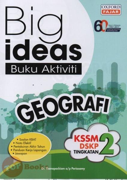product image big ideas buku aktiviti geografi tingkatan 2