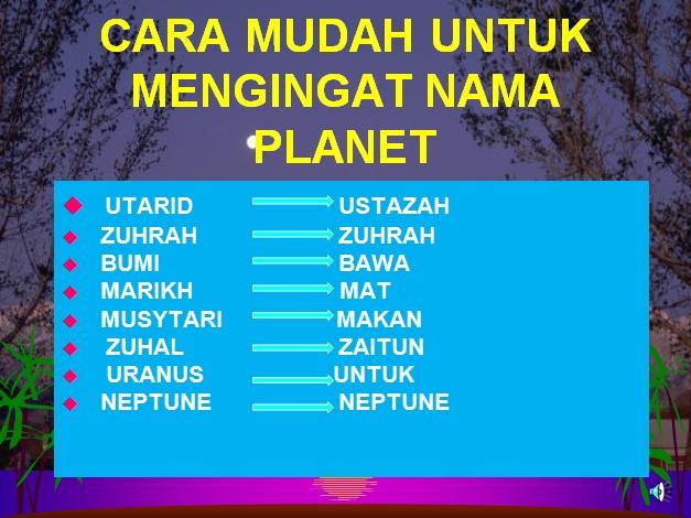 planet planet dalam sistem suria