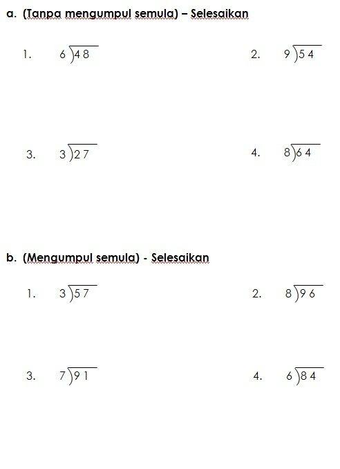 Pentaksiran Akhir Tahun Matematik Tahun 2 Baik Latihan Bahagi Matematik Kssr Tahun 3 Worksheet Pinterest Of Jom Download Soalan Pentaksiran Akhir Tahun Matematik Tahun 2 Yang Bernilai Khas Untuk Guru-guru Dapatkan!