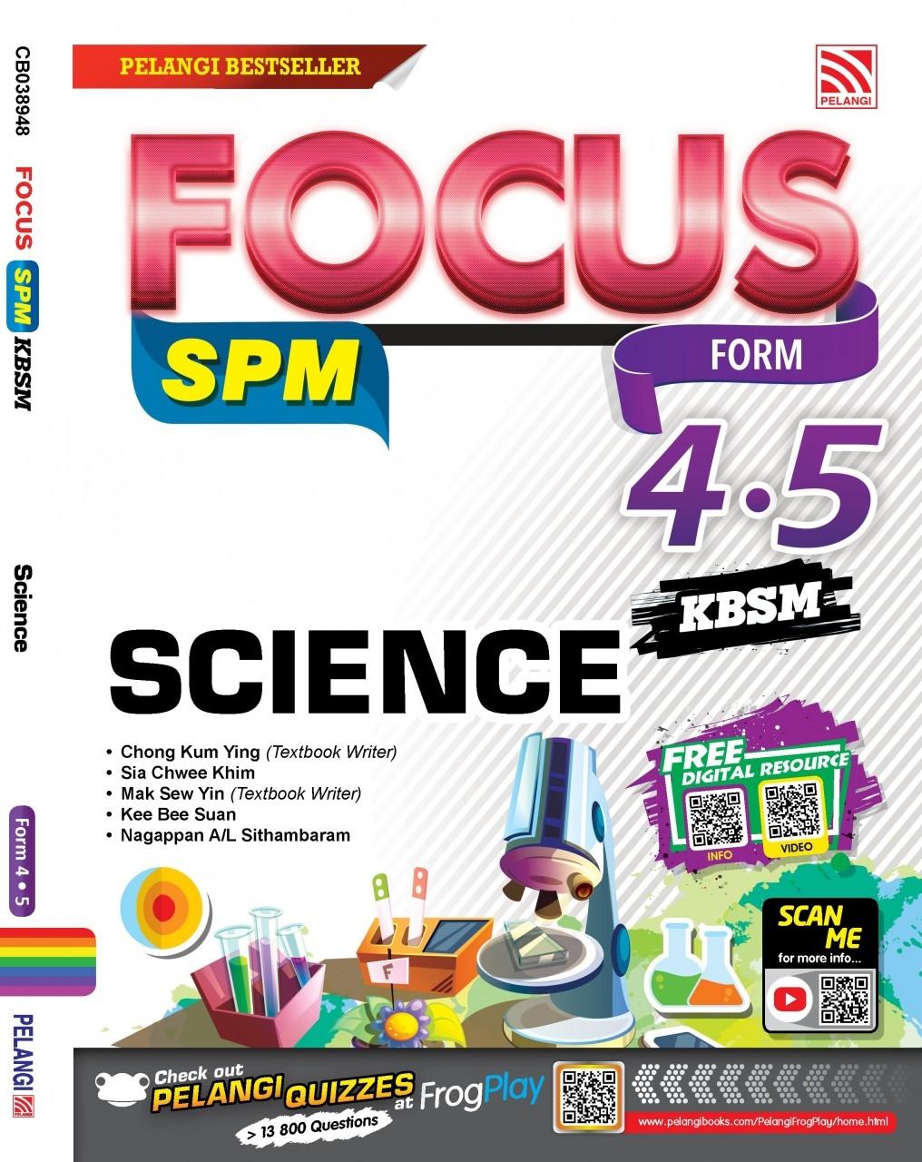 focus spm kbsm 2018