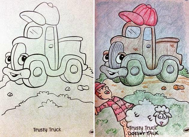 buku warna kanak kanak ini credit boredpanda