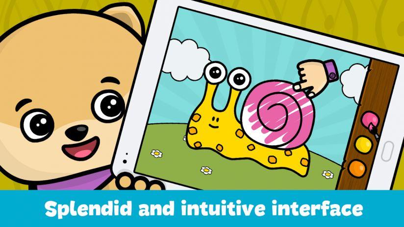 buku mewarna untuk kanak kanak tangkapan skrin 3