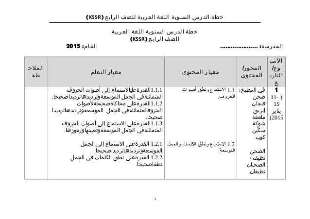 rpt bahasa arab tahun 4 2015 tarikh minggu o o o c o u o o o o u o u u u o c o u u ooo c o u o o o u o c