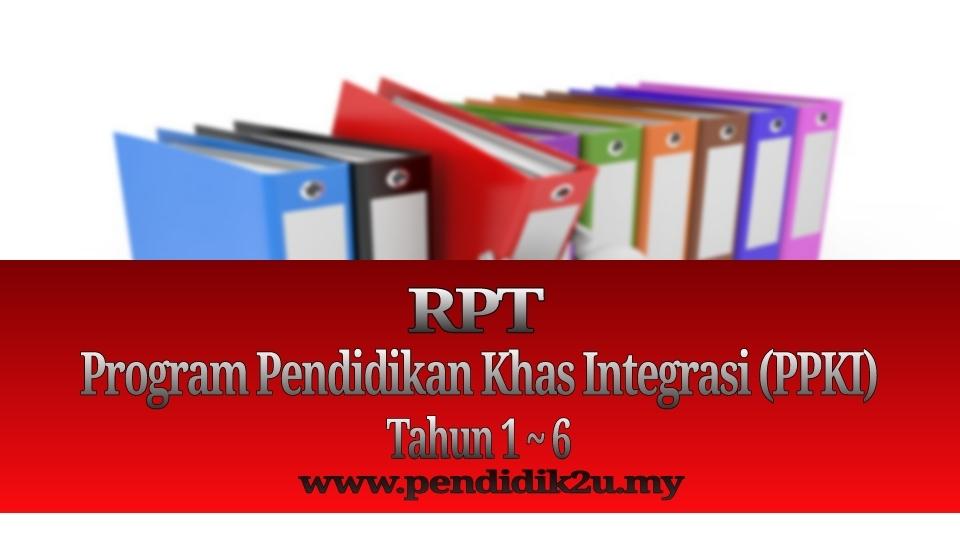 rpt program pendidikan khas integrasi ppki