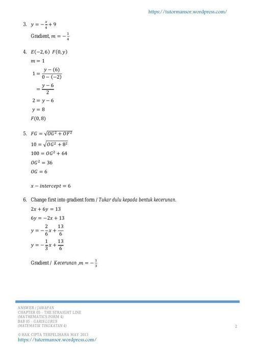Soalan Mudah Matematik Tingkatan 1 Terengganu X