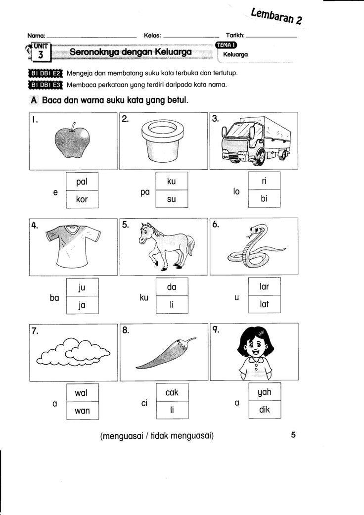Himpunan Terbesar Kuiz Tahun 1 Bahasa Melayu Yang Menarik Dan Boleh Di Muat Turun Dengan Mudah Cikgu Ayu