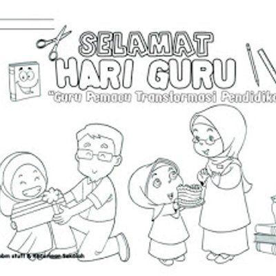 Link Download Poster Mewarna Hari Guru Yang Hebat Dan Boleh Di