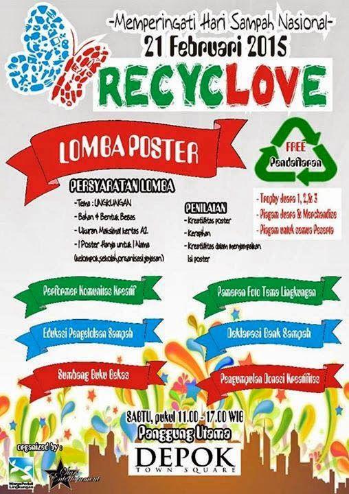 Link Download Poster Peduli Lingkungan Yang Terhebat Dan Boleh Di