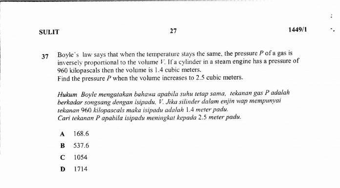 nota matematik tahun 4 yang bernilai soalan percubaan spm 2017 matematik sbp berserta skema jawapan of