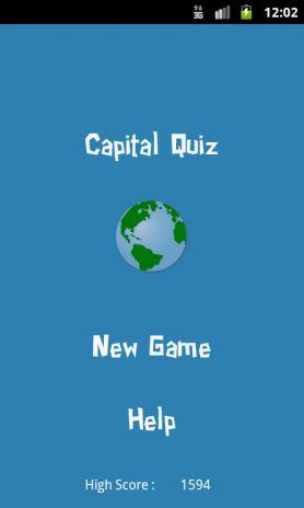 capital quiz tangkapan skrin 3