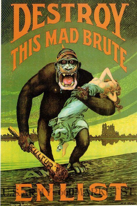 enlist war propaganda poster
