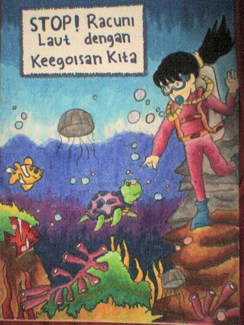 contoh contoh poster tentang kebersihan