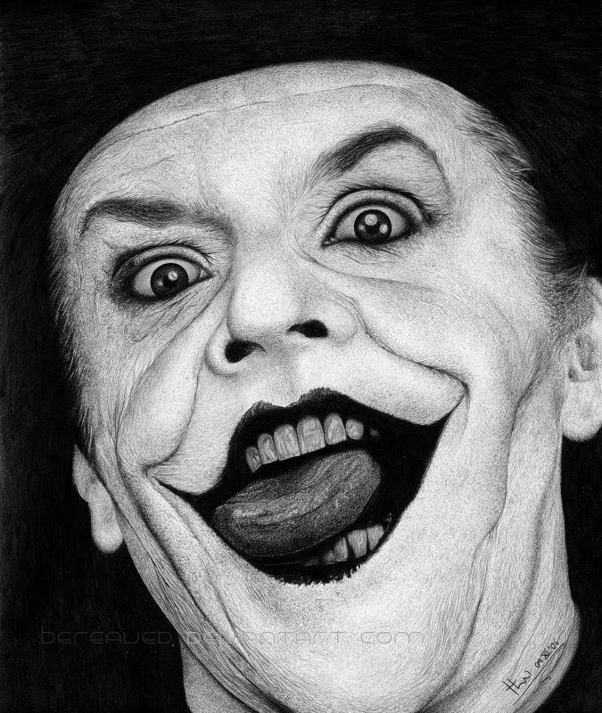 dan the joker ah aku paling suka musuh batman satu ini dia adalah badut gila yang ditakdirkan untuk mengganggu gotham dengan lelucon sintingnya