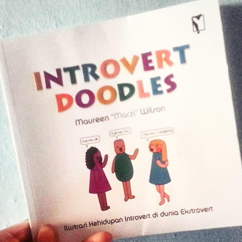 takut pada pertemuan kesepian buku ini berisi ilustrasi bagaimana perjuangan orang introver di dunia yang