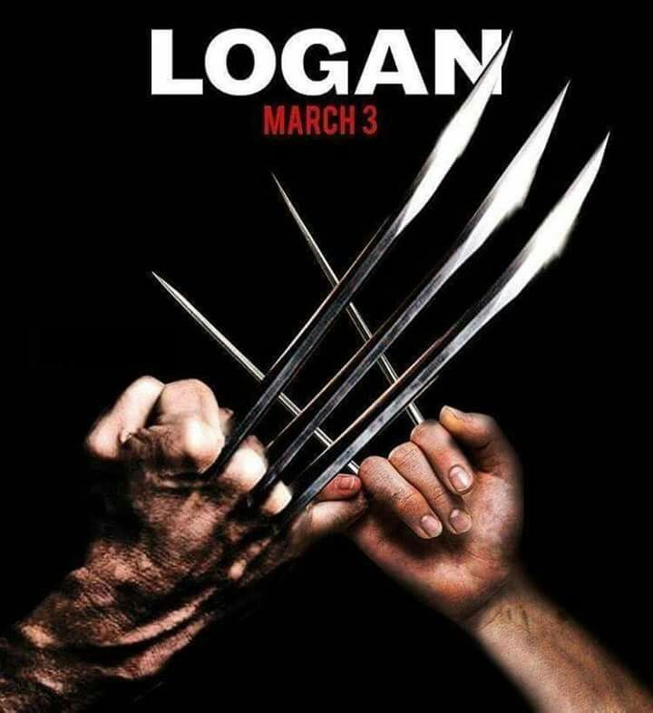 according to this logan fan poster folks with claws have gotta stick together