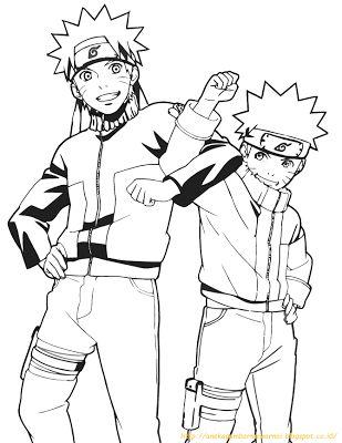 Gambar Lukisan Kartun Naruto Cikimm Com