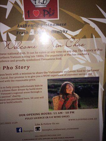 i love pho the story