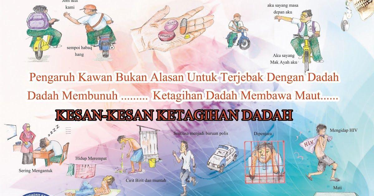 Link Download Poster Anti Dadah Sekolah Rendah Yang Gempak Dan