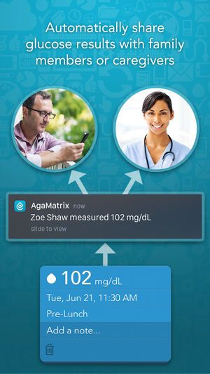 agamatrix diabetes manager 12