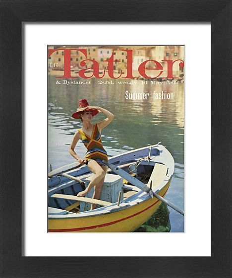 the tatler front cover may 1962 summer fashion issue front cover of the tatlers photo prints