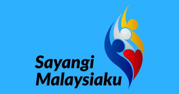 sayangi malaysiaku mewarna power tema dan gambar logo hari kemerdekaan 2018 malaysia
