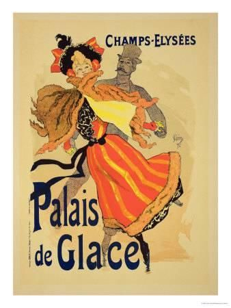jules cheret reproduction of a poster advertising the palais de glace champs elysees paris 1896 u l odg6t0 jpg