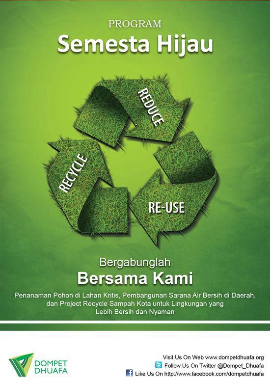 Contoh Desain Poster Peduli Sampah