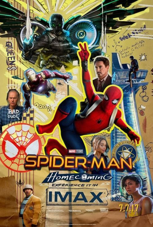 spider man homecoming imax poster